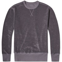 Our Legacy Reversed Sweater Fog Purple Heavy Terry Hair