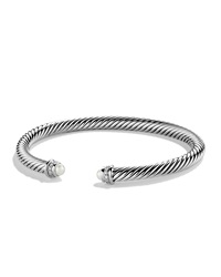 Cable Classics Bracelet With Pearls And Diamonds David Yurman