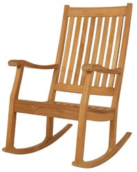 Barlow Tyrie Newport Teak Rocking Chair Multicolor