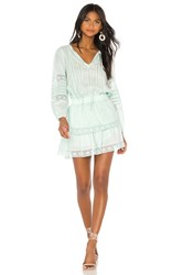 Generation Love Gia Embroidered Dress Mint