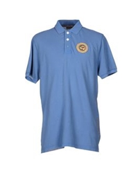 Napapijri Polo Shirts Blue
