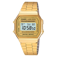 Casio A168wg 9Ef Unisex Core Bracelet Watch Gold