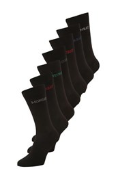 Zalando Essentials 7 Pack Socks Black