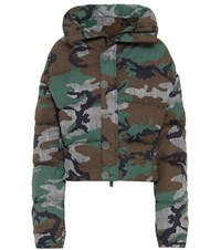 Unravel Camouflage Down Jacket Multicoloured