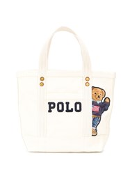 Polo Ralph Lauren Denim Teddybear Tote Bag 60