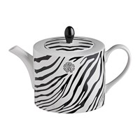 Roberto Cavalli Zebrage Tea Coffee Pot