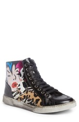 Saint Laurent Men's Modern Art Sneaker Multicolor