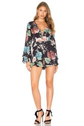 Bardot Amelia Playsuit Black