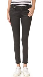 Ag Jeans The Legging Ankle Vintage Leatherette