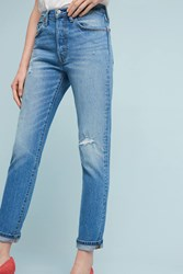 Anthropologie Levi's 501 Ultra High Rise Skinny Jeans Denim Medium Blue