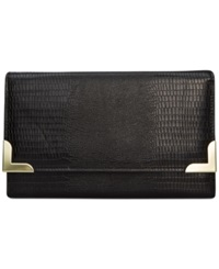 Style And Co. Exotic Diane Clutch Black
