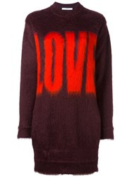 Givenchy Love Printed Jumper Brown