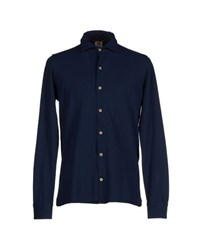 H953 Shirts Shirts Men Dark Blue