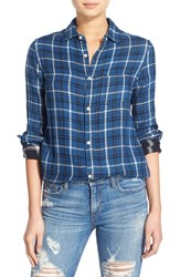 Joe's Jeans Women's Joe's 'Nico' Cotton Plaid Shirt