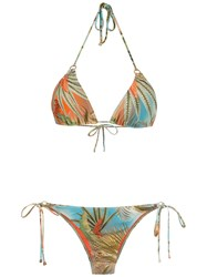 Lygia And Nanny Tulum Bikini Blue