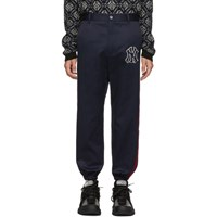 Gucci Blue New York Yankees Edition Twill Trousers