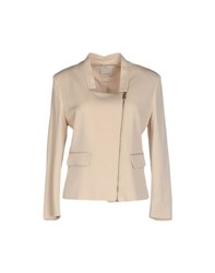 Pinko Suits And Jackets Blazers Women Beige