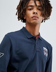 Helly Hansen Hp Club Rugger Rugby Top In Navy