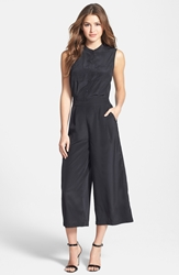 Halogen Crop Wide Leg Jumpsuit Regular And Petite Black