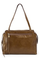 Hobo Affinity Calfskin Leather Tote Green Willow