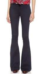 Blank Pull On Flare Jeans Blue