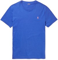 Polo Ralph Lauren Lim Fit Cotton Jerey T Hirt Blue