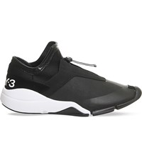 Adidas Y3 Future Low Trainers Charcoal Black White