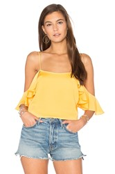 L'academie The Shoulder Cami Yellow