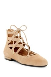 Aerosoles Goodness Lace Up Flat Brown