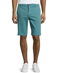 Joe's Jeans Brixton Woven Trouser Shorts Aqua Blue