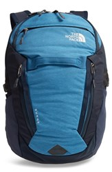 The North Face Surge Backpack Blue Dish Blue Heather Urban Navy