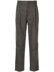 Faith Connexion Gingham Patterned Tailored Trousers 60