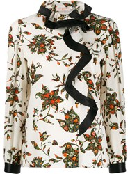 Tory Burch Sacred Floral Blouse 60