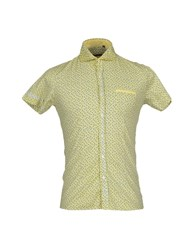 Xagon Man Shirts Yellow