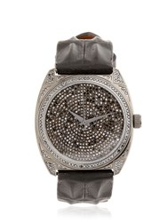Christian Koban Dom Black Diamond And Gunmetal Watch