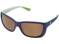 Zeal Optics Idyllwild Lavender And Lime W Polarized Copper Lens Sport Sunglasses Black