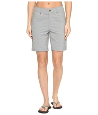 Royal Robbins Discovery Shorts Light Pewter Women's Shorts Silver