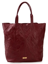 Osklen Creased Tote Red