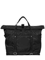 Diesel Black Gold Nylon Tote Bag
