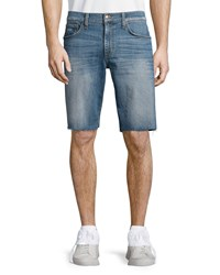 Joe's Jeans Cutoff Hem Denim Shorts Blue Men's