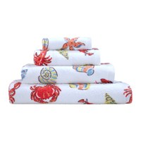 Cath Kidston Lobster And Friends Towel Red
