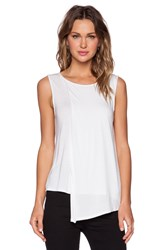 Shades Of Grey Two Layer Tank White