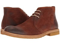 Crosby Square Brogan Brown Suede Men's Lace Up Boots