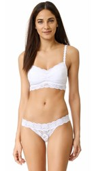 Cosabella Never Say Never Soft Padded Bra White