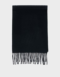 Norse Projects Lambswool Scarf In Black