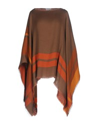 Marina D'este Capes And Ponchos Cocoa