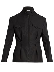 J.W.Anderson Zip Through Cotton Shirt Jacket Black