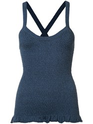 Ulla Johnson Knitted Top Blue