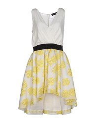 Christian Pellizzari Dresses Short Dresses Women White