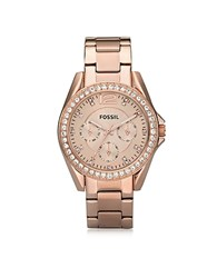 Fossil Riley Stainless Steel Women's Watch Pink